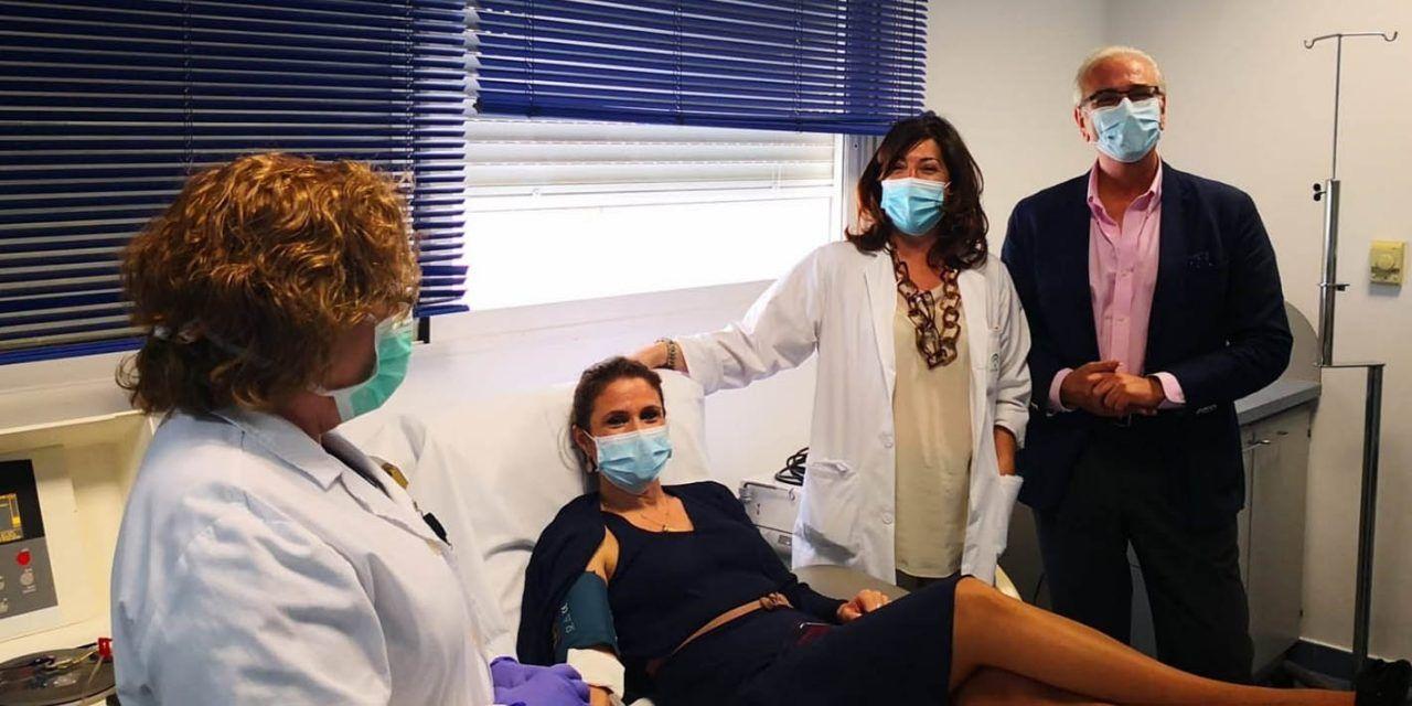 Los jiennenses donan 454 bolsas de plasma hasta el mes de mayo