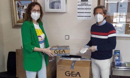 GEA realiza una donación de 500 mascarillas a profesionales sanitarios de la provincia de Jaén