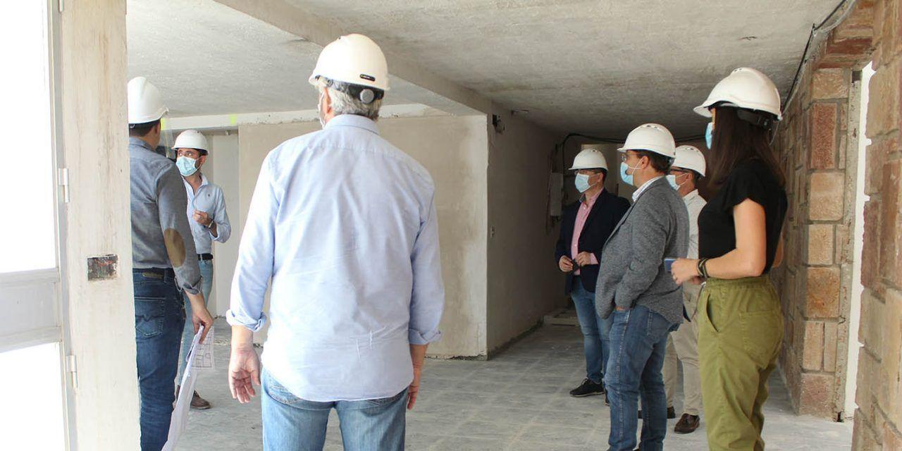 """Las obras del antiguo seminario avanzan con """"paso firme"""" hacia su conversión en Centro Socio-Asistencial"""