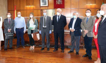 El Colegio de Abogados de Jaén participa en una reunión con los operadores jurídicos de Jaén para abordar la vuelta a la normalidad