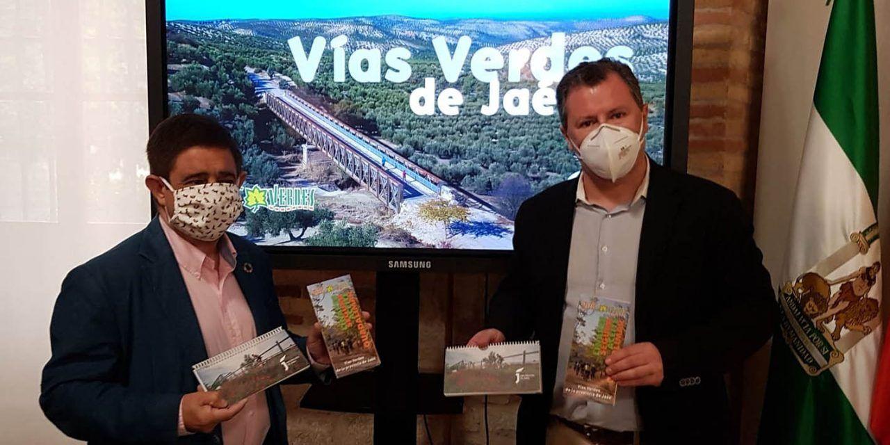 Diputación edita una guía para conocer en profundidad las cuatro vías verdes de la provincia de Jaén