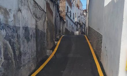 Finalizan obras mejora del asfaltado y señalización de la calle Antonio Díaz