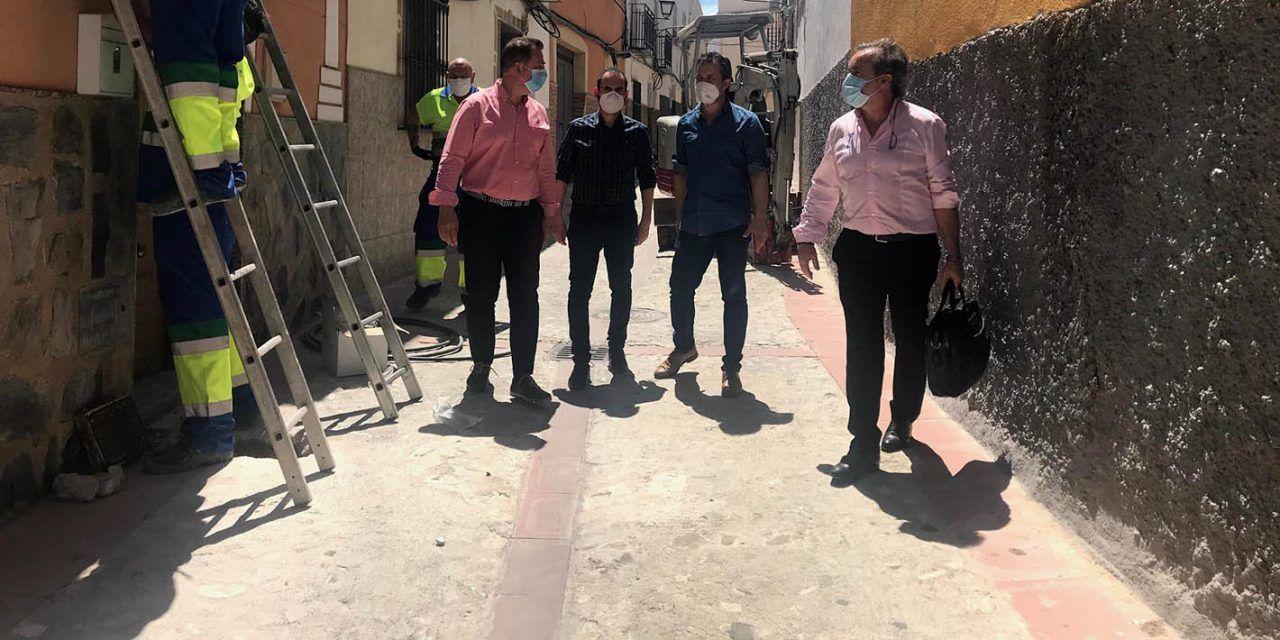 Hoy comienzan las obras de arreglo integral de la calle Cruz de la Magdalena