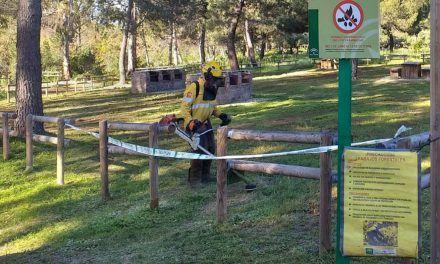La Junta pone a punto áreas de esparcimiento en el entorno natural de Andújar