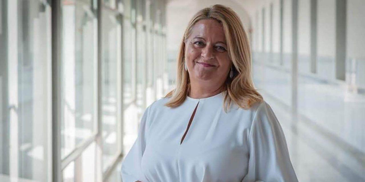 """Ángela Hidalgo afirma que es """"rotundamente falso"""" que la Junta haya eliminado de su planificación los puertos secos de la provincia"""
