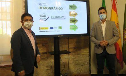 Diputación lanza la segunda convocatoria de ayudas del Programa Reto Demográfico que suman 3,8 millones de euros