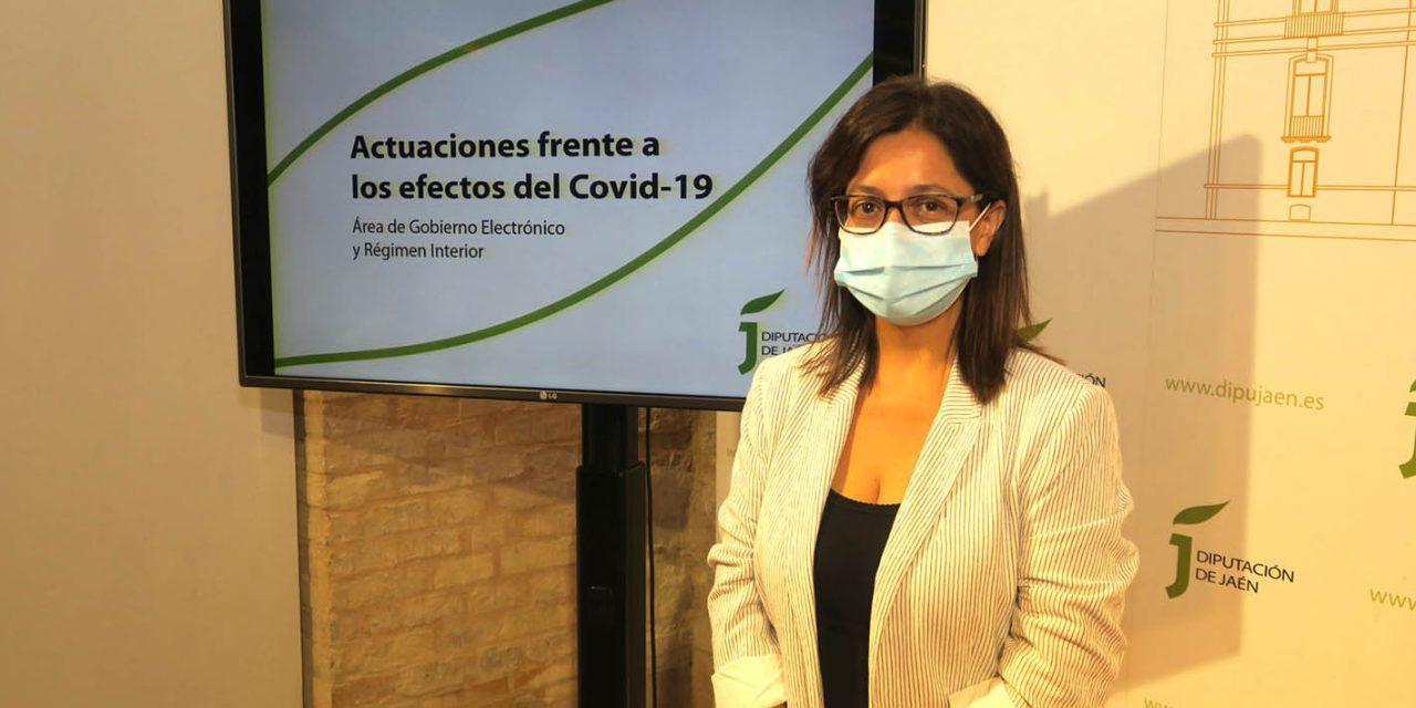 Diputación facilita que escolares de 1.450 familias en 94 municipios completen el curso con los routers wifi