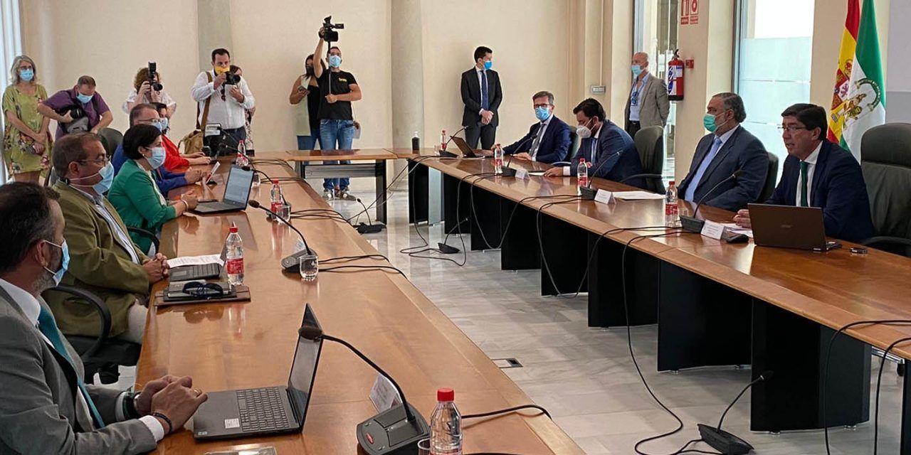 Diputación y Junta firman el convenio para financiar los materiales del PFEA, que ascienden a 9,4 millones de euros