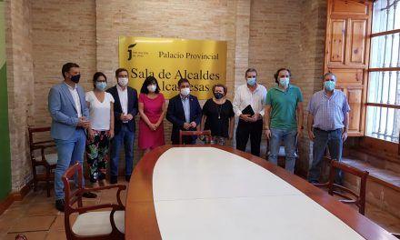 La Diputación habilita en el Palacio Provincial una sala para uso de alcaldes y alcaldesas
