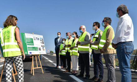 Fomento culmina la inversión de 1,8 millones en la mejora de la seguridad vial de la A-311