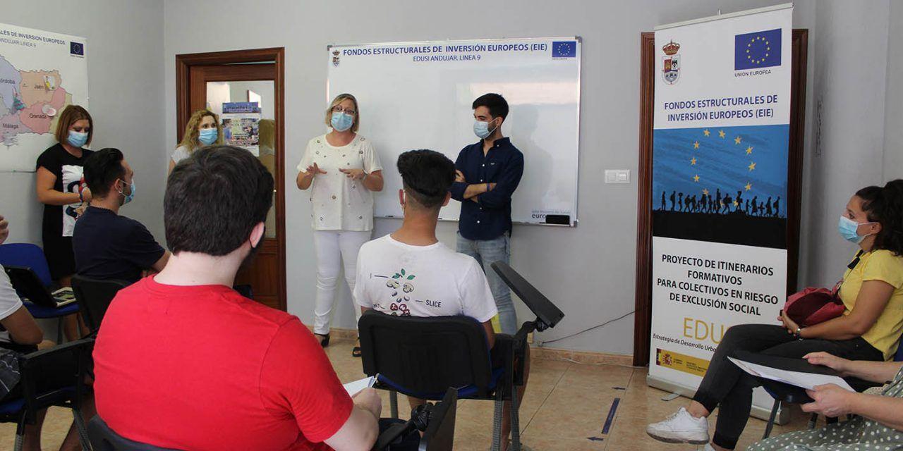El Ayuntamiento de Andújar comienza una nueva formación de 60 horas de Aplicación de Plaguicidas y Productos Fitosanitarios a través de la Línea 9 de EDUSI
