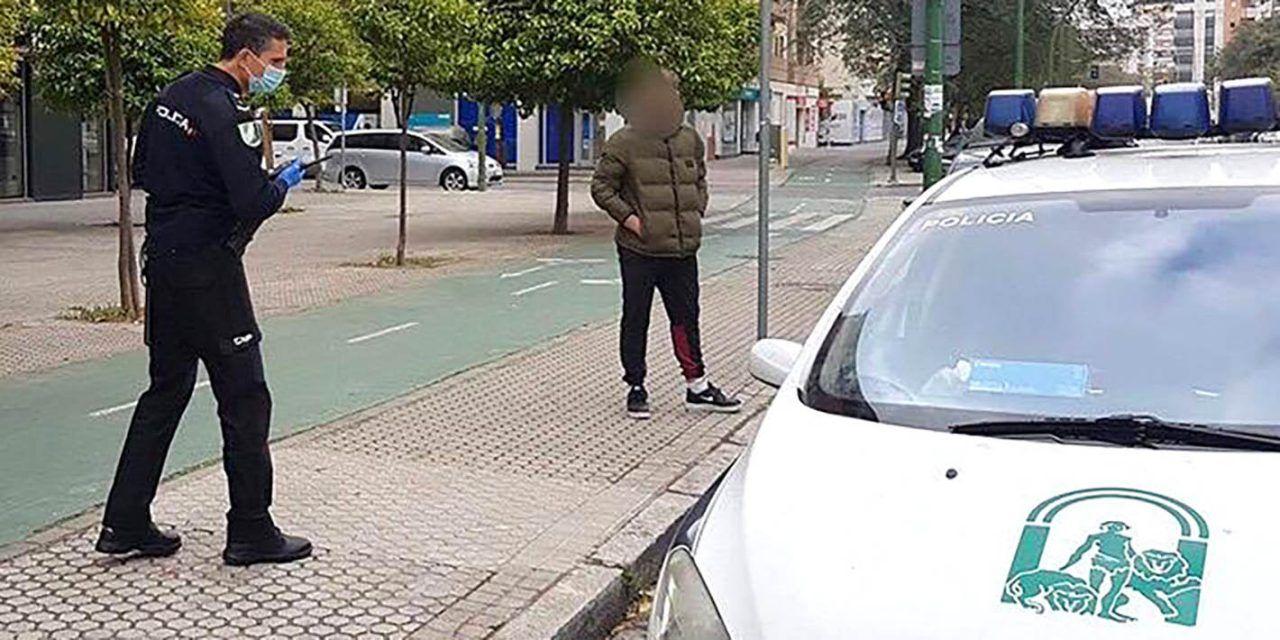 La Unidad de Policía Adscrita impuso 459 sanciones en Jaén en el estado de alarma