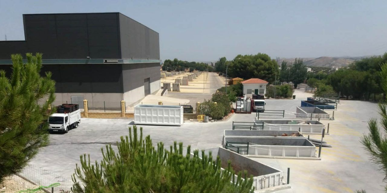 Jaén acomete la ampliación del proyecto del punto limpio situado junto al recinto ferial