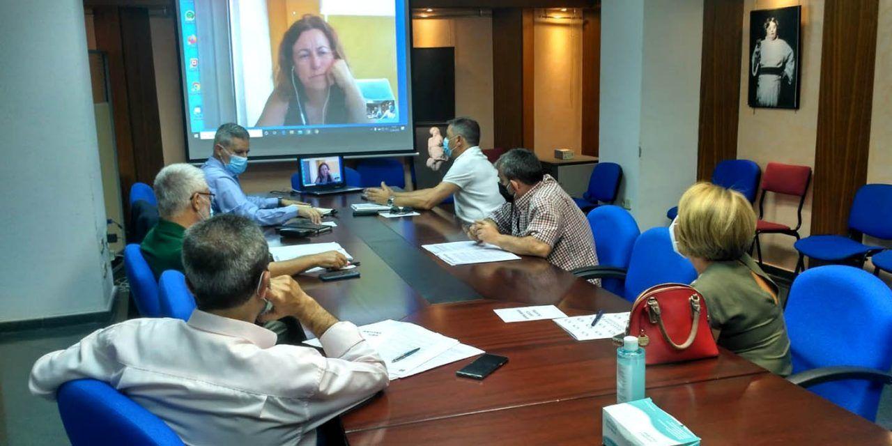 La viceconsejera de Educación se reúne con los equipos directivos de los centros de Jaén