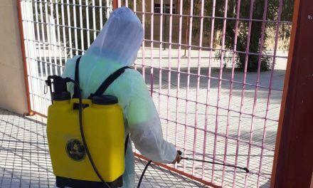 El Ayuntamiento de Jaén intensifica la desinfección y limpieza en el entorno de los centros docentes