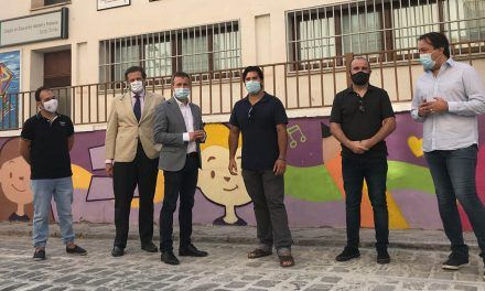 El Ayuntamiento destaca el esfuerzo de promoción de la cultura de Círculo Ánimas gracias al proyecto 'Azulejos por Jaén'
