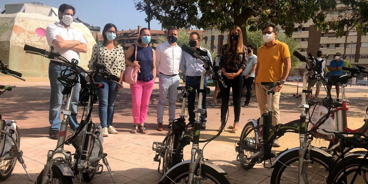 Jaén impulsará puntos de acceso a bicicletas de pedaleo asistido en aparcamientos públicos