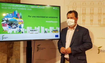 La Diputación de Jaén se suma a la Semana Europea de la Movilidad Sostenible con una docena de actividades