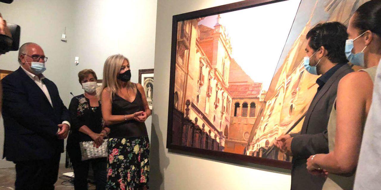 Patricia del Pozo inaugura la primera antológica del artista David Padilla en el Museo de Jaén