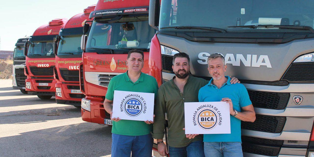 La empresa jiennense Garzón Green Energy logra el sello de calidad de la biomasa andaluza BICA