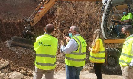 Fomento corrige deslizamientos en taludes de la A-6050 entre Los Villares y Jaén
