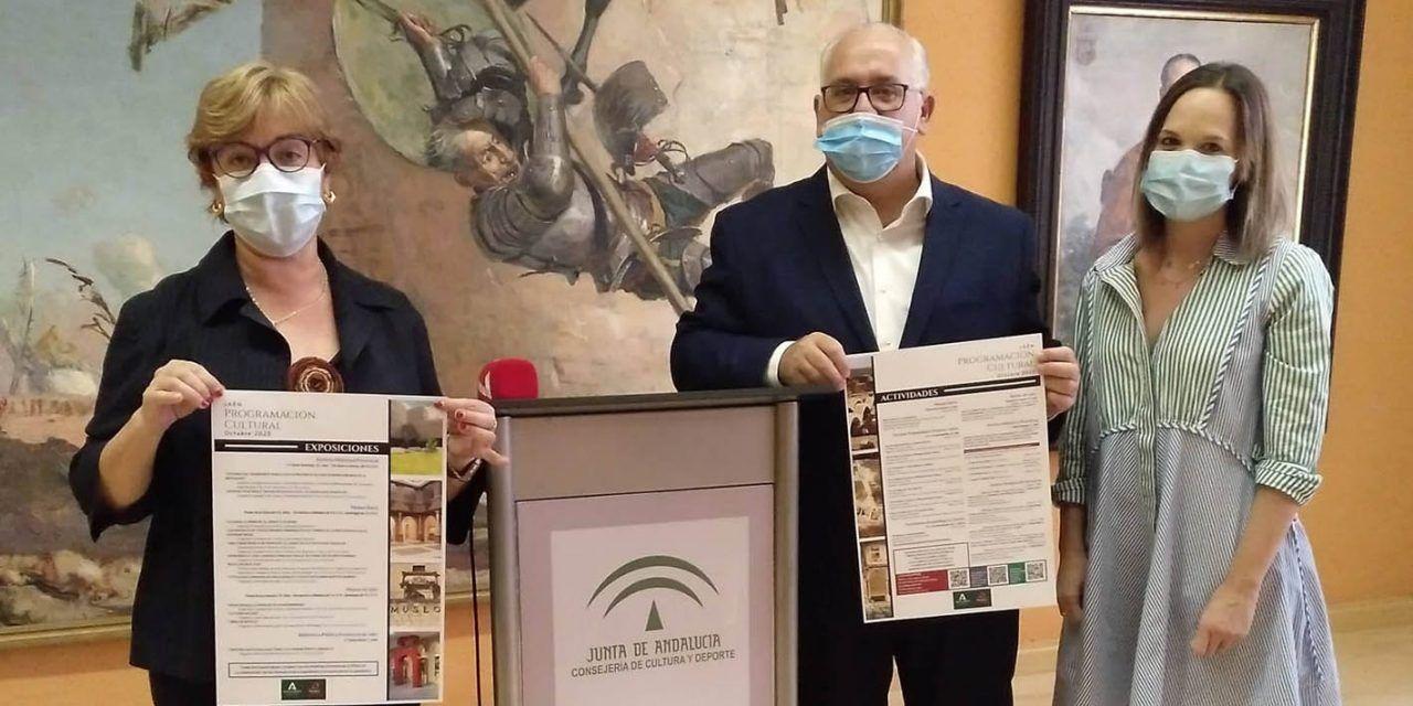 La Consejería de Cultura dinamiza el sector en Jaén con 54 actividades seguras en octubre