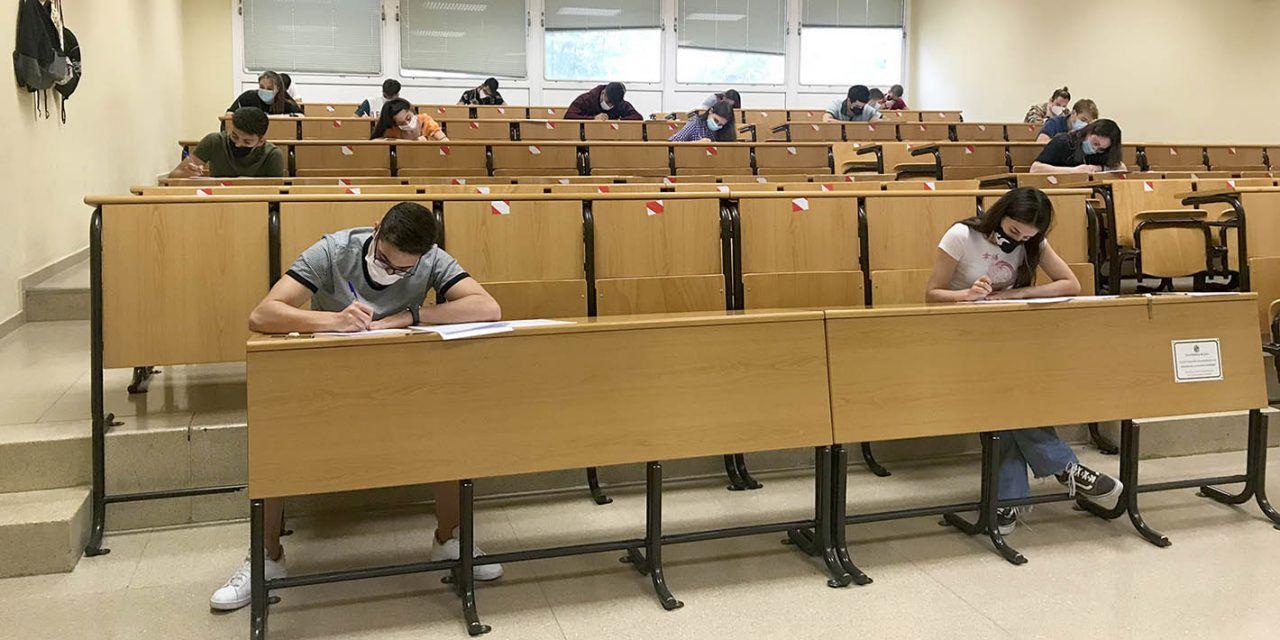 Comienza la Prueba de Evaluación para el Acceso y Admisión a la Universidad (PEvAU) en la provincia de Jaén en su convocatoria de septiembre