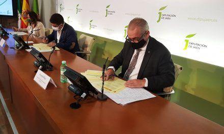Diputación gestionará el abastecimiento en alta de los once municipios que forman parte del sistema del Quiebrajano