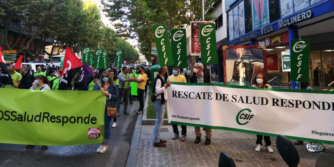 CSIF Jaén reclama al consejero de Salud y Familia, Jesús Aguirre, que cumpla su promesa de rescatar el servicio de Salud Responde
