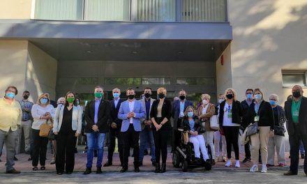 Los colectivos vinculados a personas con discapacidad conocen el Puerta de Andalucía