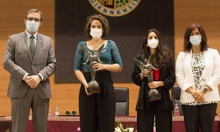 La UJA reconoce como 'Natural de Jaén' a las jugadoras internacionales de Hockey Hierba Carmen Cano y María de los Ángeles Ruiz