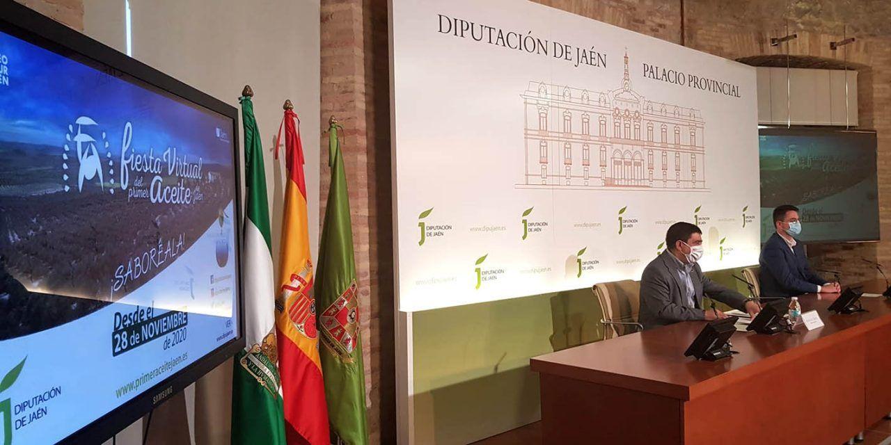 Setenta empresas del sector oleícola participarán en la Fiesta del Primer Aceite, que por primera vez será virtual