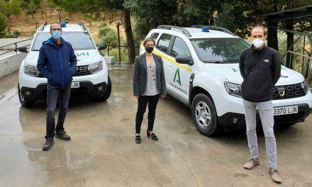 El Plan Infoca incorpora dos vehículos nuevos en Jaén para el transporte del personal