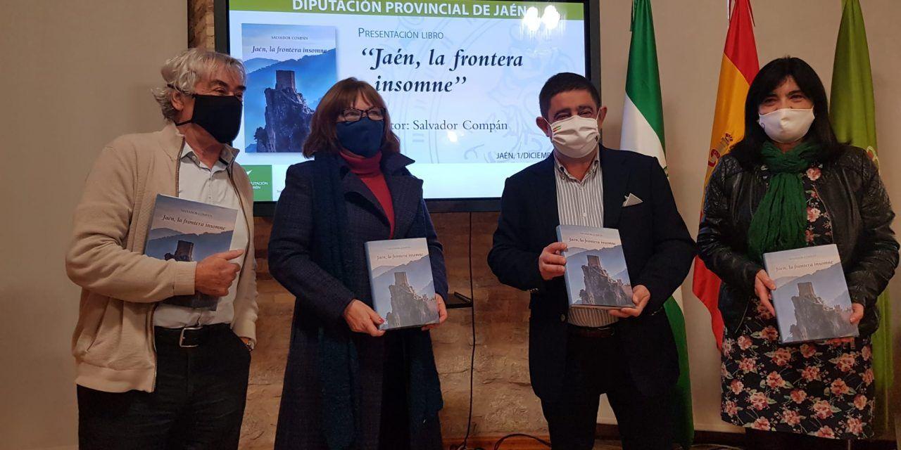 """Diputación distribuirá el libro """"Jaén, la frontera insomne"""", de Salvador Compán, entre clubes de lectura y bibliotecas"""