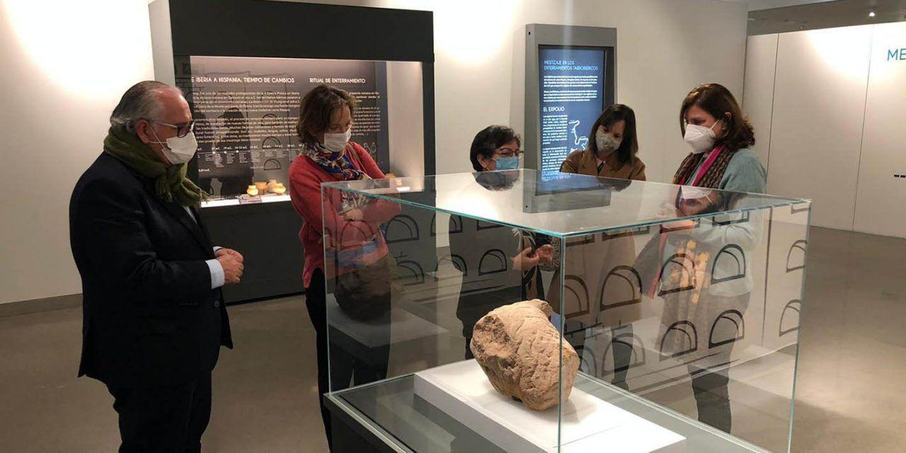 El Museo Íbero acoge una exposición sobre el mestizaje en los enterramientos tardoibéricos