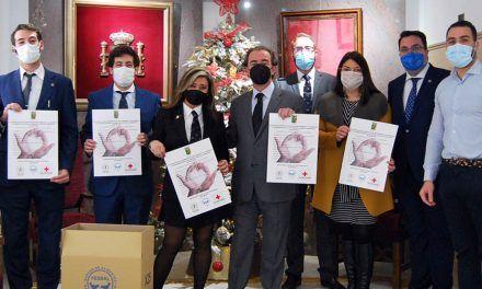 La sede del Colegio de Abogados de Jaén organiza una campaña de recogida de alimentos y juguetes