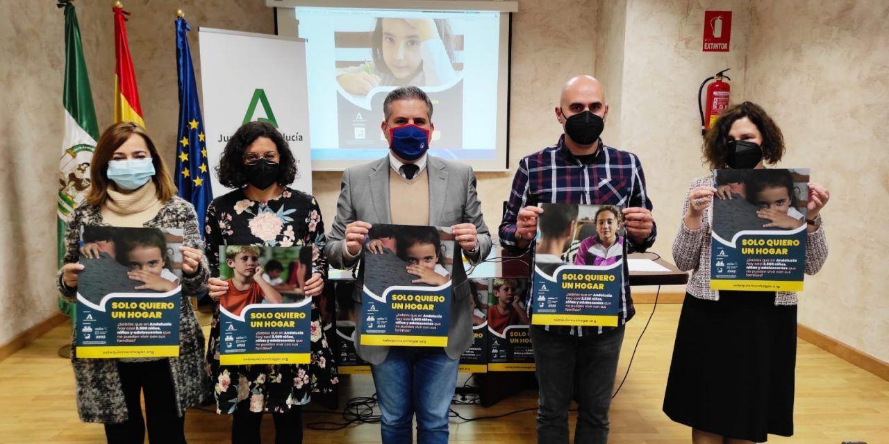 171 menores de Jaén que viven en centros   de protección buscan familia de acogida