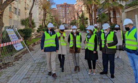 La Junta inicia las obras de remodelación del Paseo Virgen del Rocío, en el Polígono del Valle