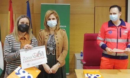 Salud distingue a once entidades con nuevas 'zonas cardioaseguradas' en Jaén