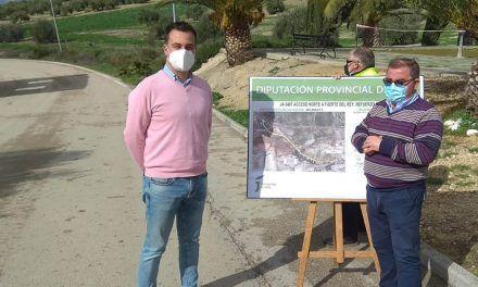 La Diputación destinará más de 300.000 euros a mejorar el firme de la carretera de acceso norte a Fuerte del Rey