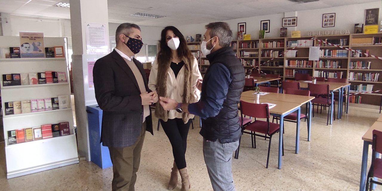 Educación invierte casi 600.000 euros en mejorar las instalaciones del IES Jabalcuz