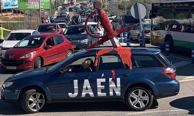 'Jaén Merece Más' eleva la participación en la protesta a más de 5.000 vehículos