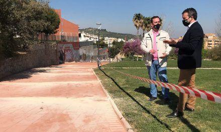 El Ayuntamiento ultima las obras en el Parque Fuente de la Mimbre