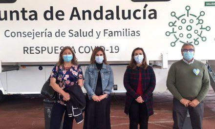 La Junta administra 2.500 dosis de la vacuna AstraZeneca esta semana en Jaén