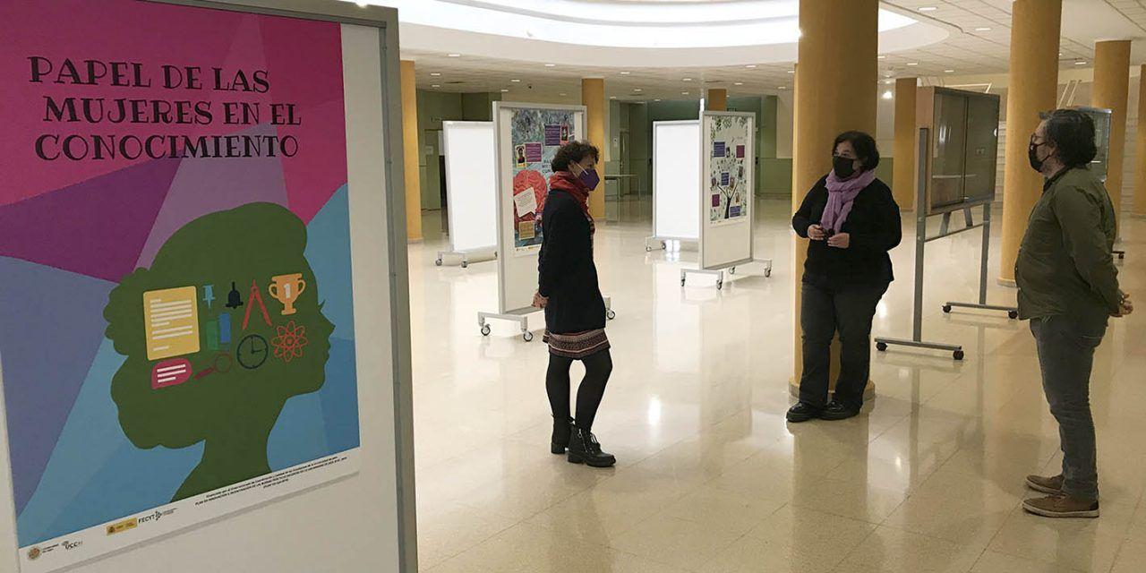 Una muestra de la Universidad de Jaén resalta el 'Papel de las mujeres en el conocimiento'