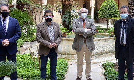 Raúl Caro se reúne con el CES, la Diputación y el alcalde de Jaén