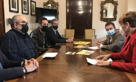 Millán y Cantos se reúnen con la Asociación de Comerciantes Avenida de Andalucía