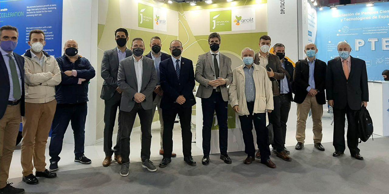 Catorce empresas y entidades participan de la mano de Diputación en el principal encuentro de I+D+i del sur de Europa