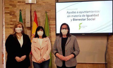 Diputación destina cerca de 2 millones de euros para programas municipales en materia de Igualdad y Bienestar Social