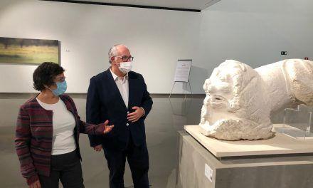 El Museo Íbero acoge una muestra sobre los leones en las tumbas íberas y romanas
